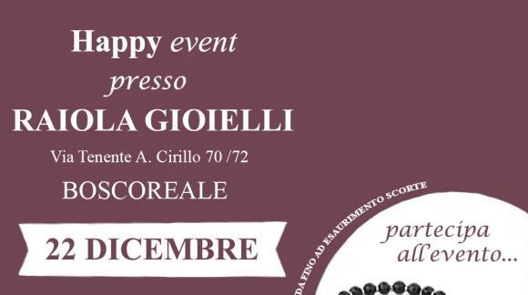 Happy Event S'Agapõ Day presso la Boutique Raiola Gioielli Boscoreale