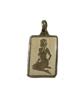 Pendente Oro Segno Zodiacale Vergine