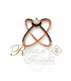 """Anello """"FOGI - Silver 925"""" BAA6/3/1/14"""