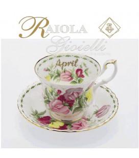 "Miniatura Tazza del Mese ""Royal Albert"" Aprile M4M"