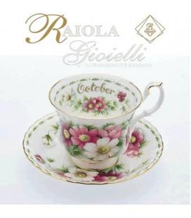 "Miniatura Tazza del Mese ""Royal Albert"" Ottobre M10M"
