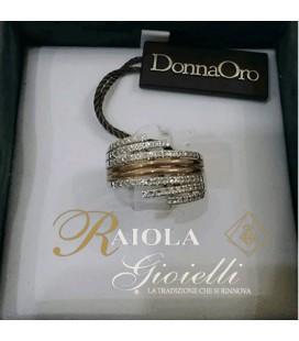 """Anello Diamanti """"Donna Oro"""" DKF0088"""