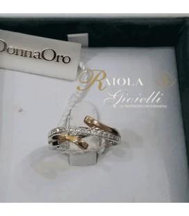 """Anello Diamanti """"Donna Oro"""" DWF0166"""