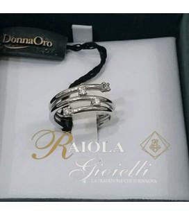 """Anello Diamanti """"Donna Oro"""" KF3580"""