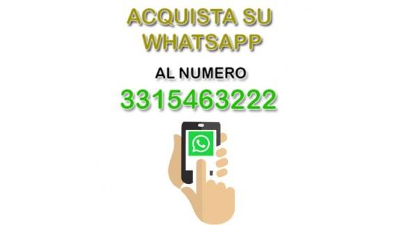 Per i tuoi acquisti attivato il servizio whatsapp