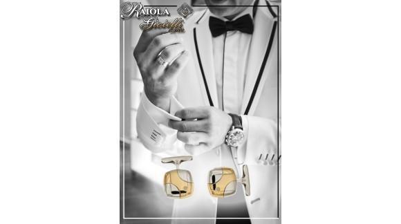 I gemelli per lo sposo: un accessorio elegante che non passa mai di moda