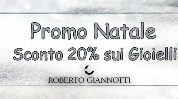 Promo Natale Sconto 20% Roberto Giannotti